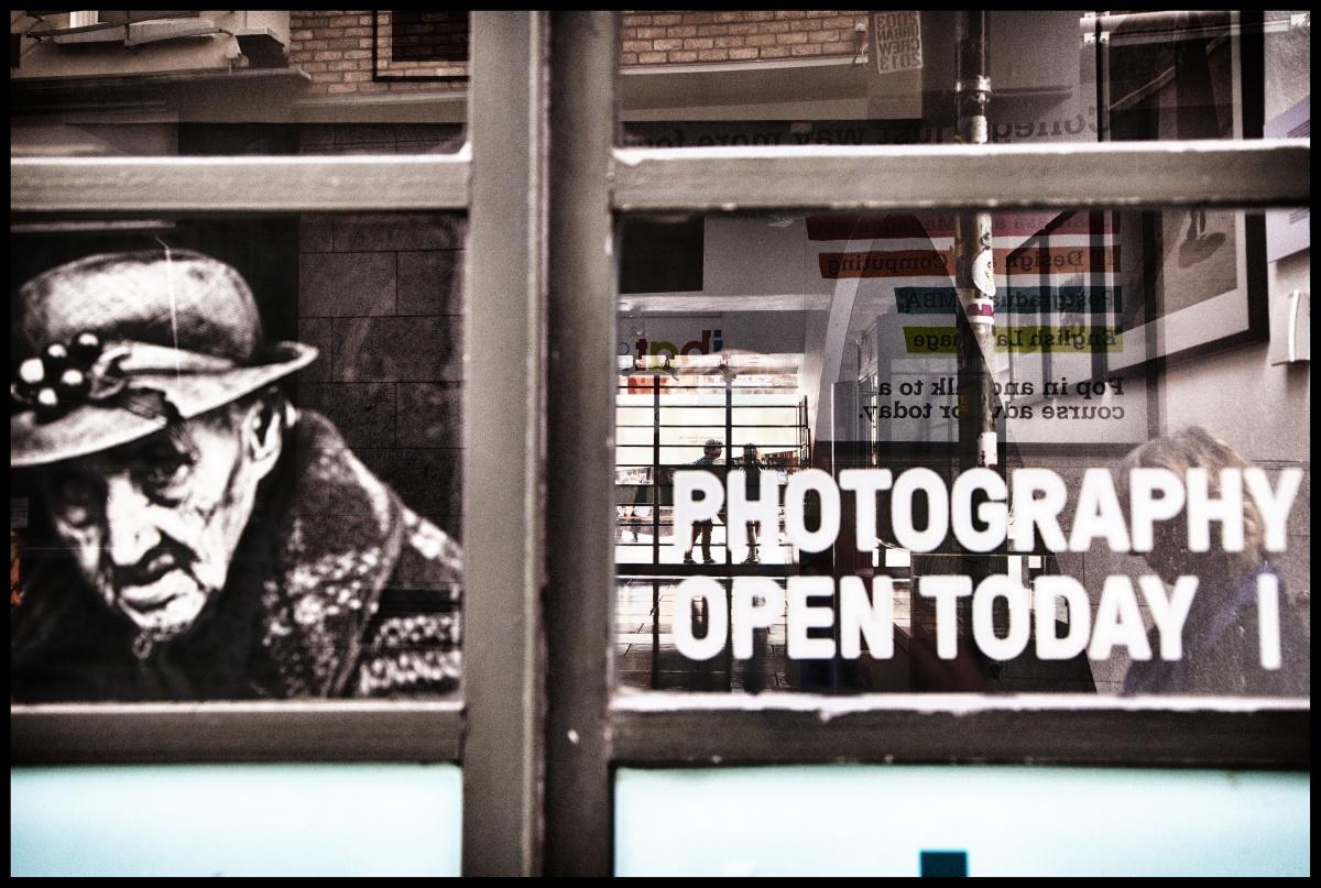 """PHOTOGRAPHY OPEN TODAY"" - DUBLINO, 2014 - rp"