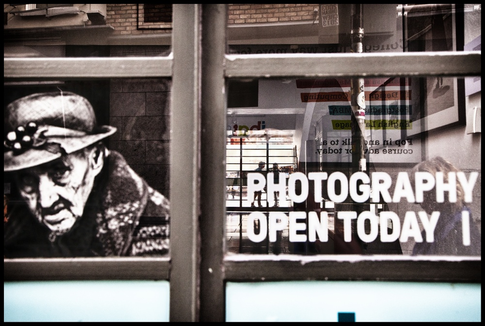 """PHOTOGRAPHY OPEN TODAY"" - DUBLINO, 2014 - rp"
