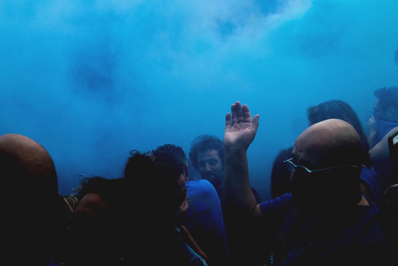 La nuvola azzurra - Calcio in costume