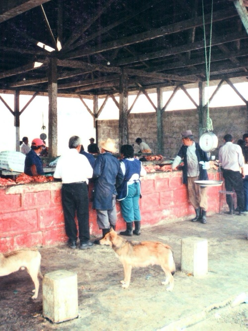 The market in the village. I remember I was impressed by the fact that meat was not stored in a refrigerator. I didn't know I would have seen many more of those markets in my life.