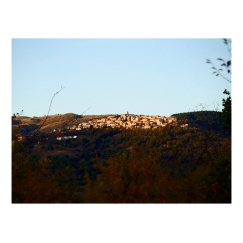 the village was so quiet that you could hear the heartbeat of the earth. abruzzo.