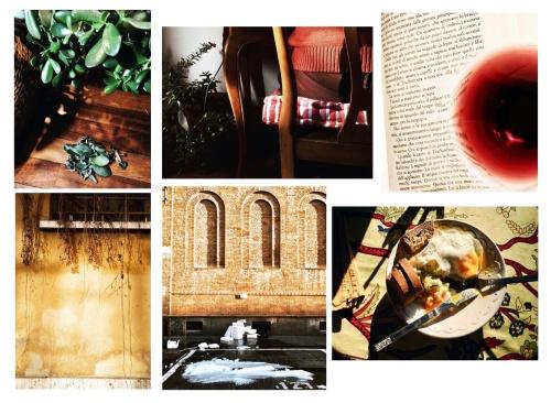 January in between red and orange zone   iPhone 6 diaries   series on Instagram