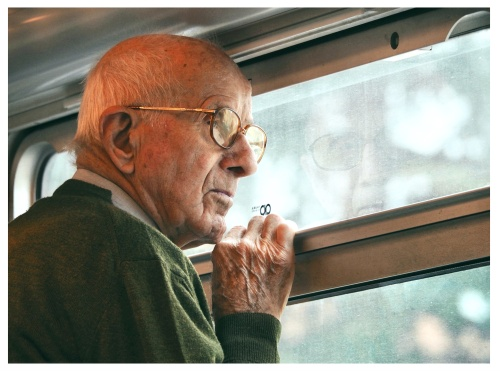 homesick {a short story, from life}  every time the train crossed the valley, he felt nostalgic of a life he never lived. his memories of the place were so vivid that it couldn't help but standing by the window evoking those pleasant moments. can we yearn for something that never happened?  from *tiny stories*