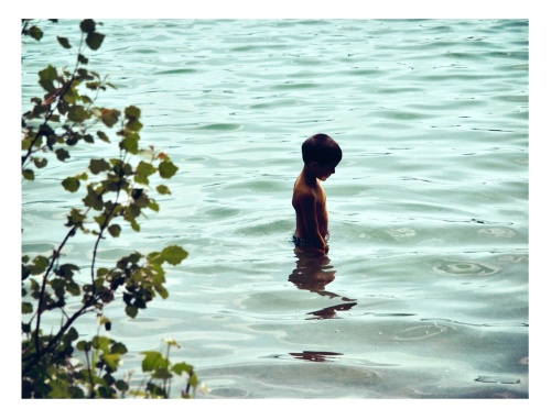 As a fire sign, I would spend days staring at water and envying her.